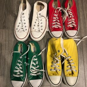 Lot of 4 Converse